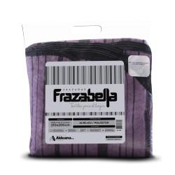 FRAZADA FRAZABELLA TRIPLE 2 ½ PLAZA ESCOCESA 3 CAPAS