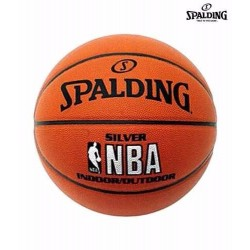 PELOTA BASKET N7 NBA SILVER IN/OUTDOOR