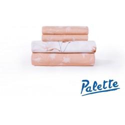 JUEGO DE SABANAS FREE PALETTE 1 1/2 PLAZA 144 H. P0881/1S